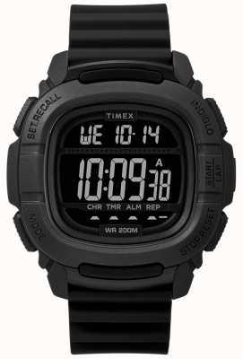 Timex   boost shock black digital   TW5M26100SU