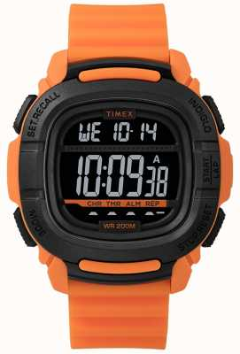 Timex | boost choc orange et noir digital | TW5M26500SU