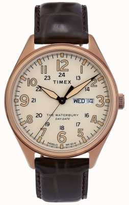 Timex | waterbury traditionnelle montre de date | TW2R89200D7PF