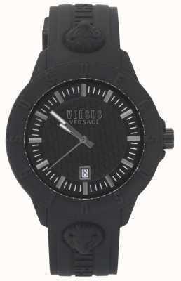 Versus Versace | montre femme noire | bracelet en silicone | VSPOY2318