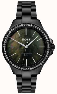 Boss | montre femme noire en acier inoxydable | 1502456