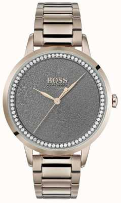 Boss | montre crépuscule pour femmes | acier inoxydable | cadran gris | 1502463