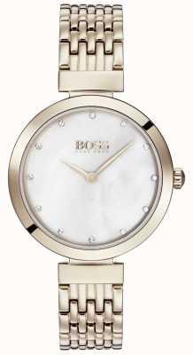 Boss | bracelet dames en métal doré rose pâle | 1502480