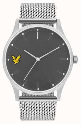 Lyle & Scott Mens hope se bracelet en acier inoxydable maille bracelet gris LS-6013-11