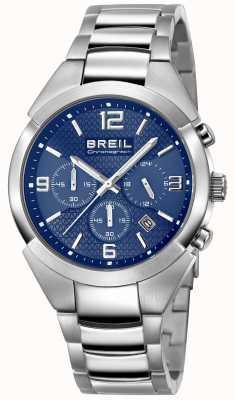 Breil | bracelet en acier inoxydable hommes | cadran bleu | TW1328