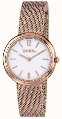 Breil | bracelet dames iris rose or mesh | TW1778