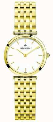 Michel Herbelin   les femmes   epsilon   bracelet pvd extra plat   17116/BP11