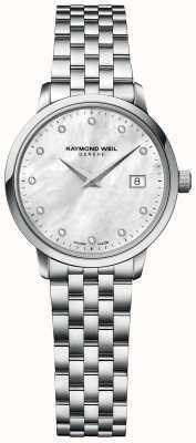 Raymond Weil | diamant pour femmes toccata | bracelet en acier inoxydable | 5985-ST-97081