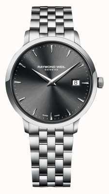 Raymond Weil | toccata mens | bracelet en acier inoxydable | cadran gris | 5485-ST-60001