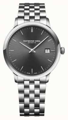 Raymond Weil | toccata pour hommes | bracelet en acier inoxydable | cadran gris | 5485-ST-60001