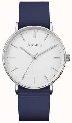 Jack Wills | bracelet en silicone bleu dames sandhill | JW018WHNV