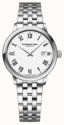 Raymond Weil | bracelet en acier inoxydable pour femme toccata | cadran blanc | 5985-ST-00300
