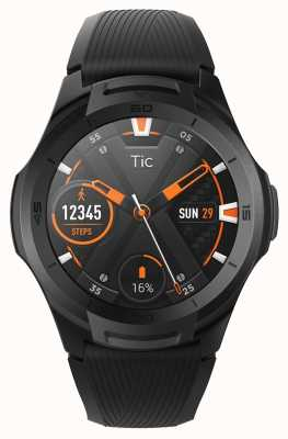 TicWatch S2 | montre intelligente de minuit | bracelet en silicone noir 131585-WG12016-BLK