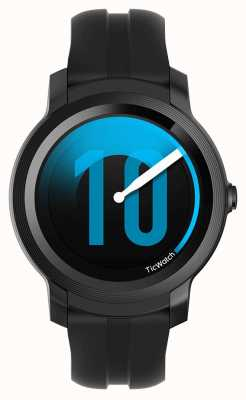 TicWatch E2 | smartwatch ombre | bracelet en silicone noir 131586-WG12026-BLK
