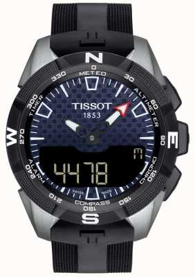 Tissot | mens t-touch expert solaire ii | bracelet en caoutchouc noir | T1104204705101