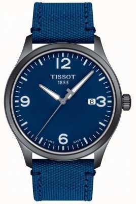 Tissot | mens xl | cadran bleu | bracelet synthétique bleu | T1164103704700