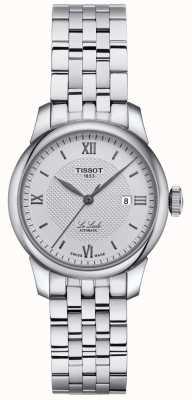 Tissot | femme le locle | bracelet en acier inoxydable | cadran argenté | T0062071103800
