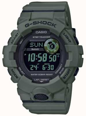 Casio | g-shock green | bluetooth | montre intelligente GBD-800UC-3ER