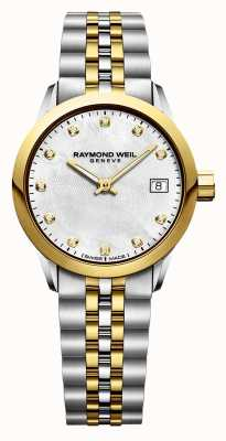 Raymond Weil Pigiste Femme Diamant Inox Deux Tons 5626-STP-97081