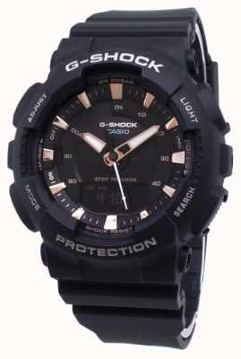 Casio Bracelet en résine noire G-shock step tracker noir GMA-S130PA-1AER