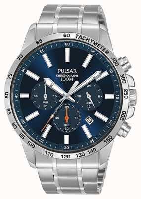 Pulsar | montre de sport en acier inoxydable pour hommes | PT3995X1