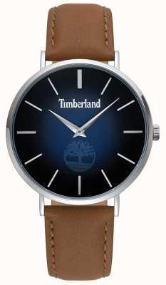 Timberland   mens rangeley   cuir marron   cadran bleu   15514JS/03