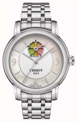 Tissot Bracelet en acier inoxydable pour femme coeur powermatic 80 T0502071111705