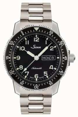 Sinn 104 st sa montre de pilote classique bracelet à deux maillons en acier 104.011 TWO LINK BRACELET