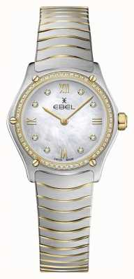 EBEL Sport classique pour femme 53 diamants, or jaune 18k 1216412A