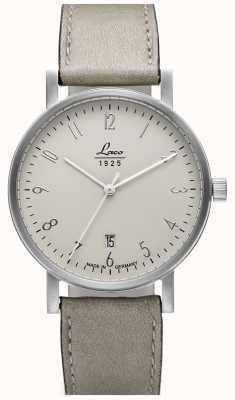 Laco | Cottbus 38 | montre automatique classique | cadran crème | 862063