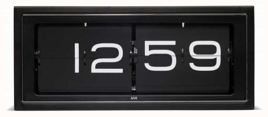 Leff Amsterdam | horloge de brique noire | LT15401