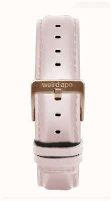 Weird Ape Bracelet en cuir rose 16 mm uniquement boucle en or rose ST01-000112