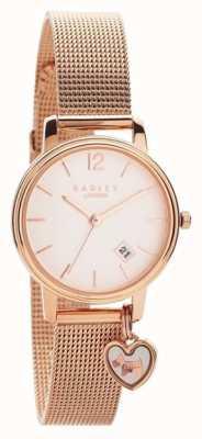 Radley   Bracelet en maille d'or rose pour femme   cadran en or rose  