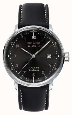 Iron Annie Bauhaus | automatique | bracelet en cuir noir | 5056-2