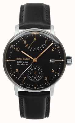 Iron Annie Bauhaus | automatique | réserve de marche | noir | 5066-2