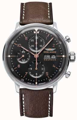 Iron Annie Bauhaus | automatique | chronographe | cadran noir 5018-2