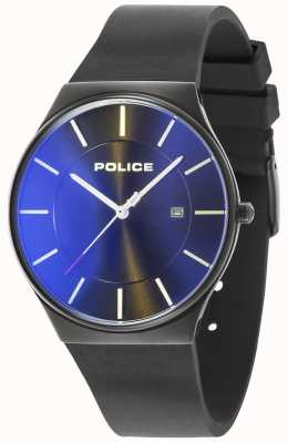 Police Montre homme neuve horizon bracelet silicone noir 15045JBCB/02PA