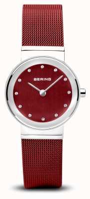 Bering Femmes | classique | bracelet en maille d'acier rouge pvd 10126-303