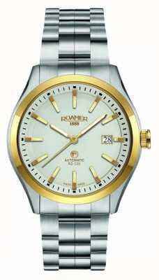 Roamer | rd100 automatique | bracelet en acier inoxydable | cadran blanc | 951660 47 15 90