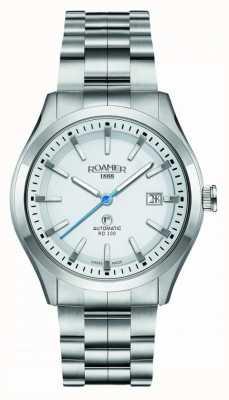 Roamer Rd100 automatique | bracelet en acier inoxydable | cadran blanc 951660-41-25-90