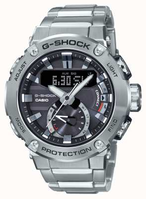 Casio G-Steel G-Shock Bluetooth Link 200m WR acier inoxydable GST-B200D-1AER