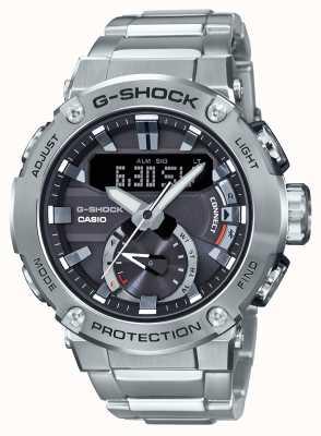 Casio Lien bluetooth g-shock g-acier 200m wr en acier inoxydable GST-B200D-1AER