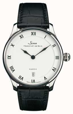 Sinn 1736 classique | bracelet en cuir noir | 1736.010