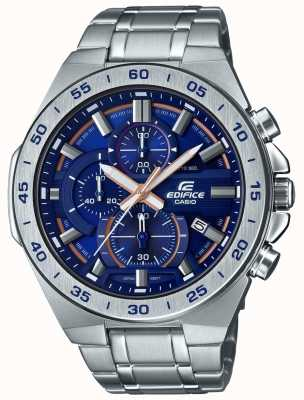 Casio | chronographe édifice | bracelet en acier inoxydable | cadran bleu EFR-564D-2AVUEF