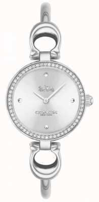 Coach   les femmes   parc   bracelet en acier   cadran blanc   14503448
