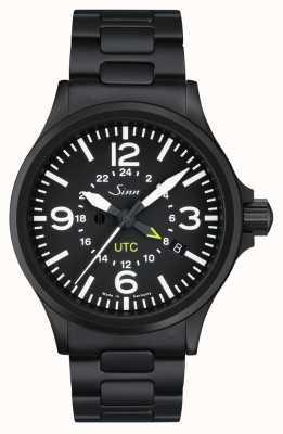 Sinn 856 s utc la montre pilote avec protection de champ magnétique et 856.020