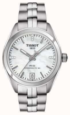 Tissot Femme n ° 100 powermatic 80 en acier inoxydable T1012071111600