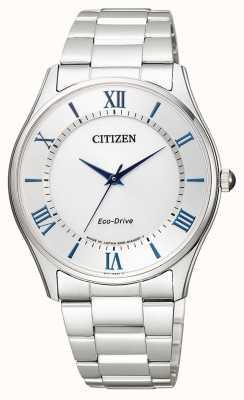 Citizen | eco-drive pour homme | bracelet en acier inoxydable | cadran argenté | BJ6480-51B
