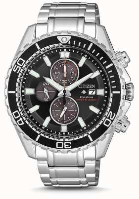 Citizen | plongeur promaster eco-drive pour homme | bracelet en acier inoxydable CA0711-80H