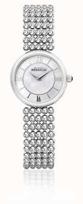 Michel Herbelin | femme perle | bracelet en argent | cadran en nacre | 17483/B19